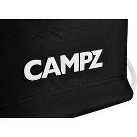 CAMPZ Taburete Plegable Aluminio, black